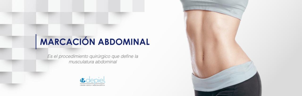 marcación de abdomen con profesionales