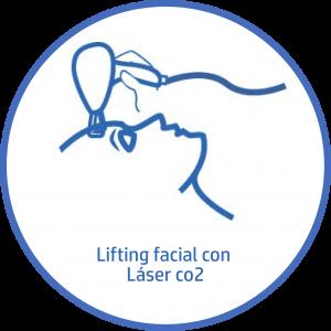 Tratamiento estetico Facial lifting facial laser