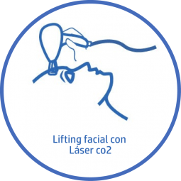 Tratamiento estetico Facial lifting facial laser