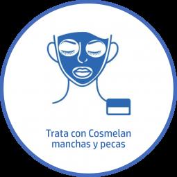 Tratamiento estetico Facial manchas pecas cosmelan