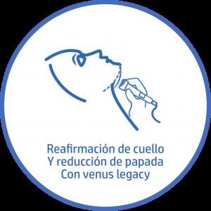 Tratamiento estetico Facial reafirma cuello y papada venus legacy