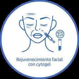Tratamiento estetico Facial rejuvenecimiento facial cytogel