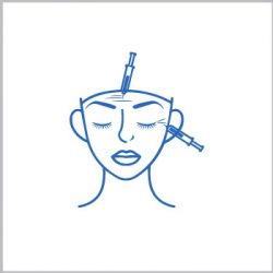 Elimina arrugas de frente y entrecejo con Botox