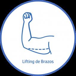 Cirugía plastica Corporal lifting de brazos