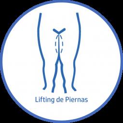 Cirugía plastica Corporal lifting de piernas